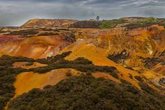 Parys Mountain-4146 (alan.dphotos) Tags: parys mountain copper quarry mine stone ore gold clinker open cast deep tunnels mining nature industry buildings landscape