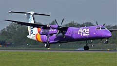 G-JEDR (AnDyMHoLdEn) Tags: flybe bombardier dash8 egcc airport manchester manchesterairport 05r