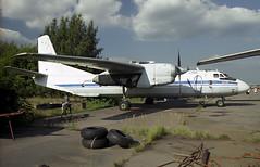 RA-29113 - Moscow Zhukovsky (ZHU) 17.08.2001 (Jakob_DK) Tags: an26 antonov antonov26 antonovan26 cargo uubw zia moscowzhukovsky zhukovskyinternationalairport gromov gromovflightresearchinstitute 2001 ra29113