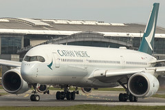 B-LRS | Cathay Pacific | Airbus A350-941 | CN 128 | Built 2017 | DUB/EIDW 13/05/2019 (Mick Planespotter) Tags: aircraft airport 2019 dublinairport collinstown nik sharpenerpro3 blrs cathay pacific airbus a350941 128 2017 dub eidw 13052019 a350