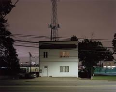 County Ave. Seacaucus (balaclava9) Tags: 4x5 night kodak porta160 largeformat rodenstock sironars 135mm ebony