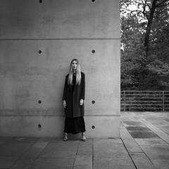 Baumschulenweg 3 (csobie) Tags: bronicasqa 80mmf28ps delta100 blackandwhite film mediumformat 120 6x6 squareformat analog portrait beauty fashion berlin germany