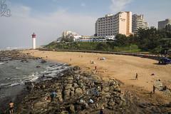 Umhlanga (katka.havlikova) Tags: africa southafrica afrika travel coast sand beach lighthouse light durban cestování pobřeží sea seaside architecture building city