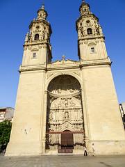 fachada principal portada oeste exterior Concatedral de Santa Maria de la Redonda Logroño La Rioja 02 (Rafael Gomez - http://micamara.es) Tags: españa logroño esp larioja concatedral santa de la exterior maria fachada rioja principal portada redonda oeste