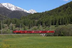 701 Zernez (diesellokguru) Tags: rhätischebahn schmalspur engadin eisenbahn eisenbahnromantik narrowgauge trains switzerland rhb