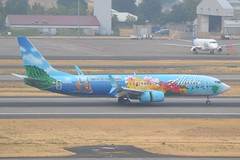 N560AS (LAXSPOTTER97) Tags: alaska airlines boeing 737 737800 spirit islands livery paint scheme n560as cn 35179 ln 2072 airport airplane aviation kpdx