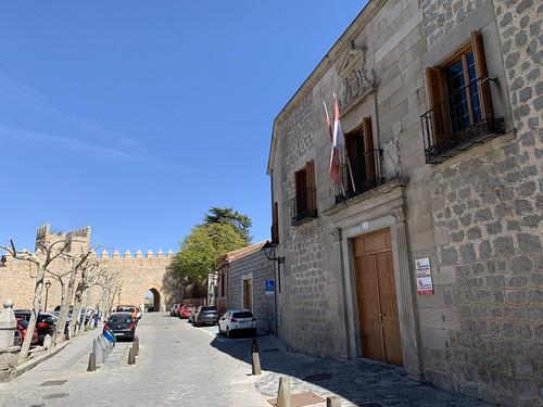 Avila, Spain, April 2019