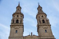 torre campanario exterior Concatedral de Santa Maria de la Redonda Logroño La Rioja 03 (Rafael Gomez - http://micamara.es) Tags: españa logroño esp larioja concatedral santa de la torre exterior maria rioja campanario redonda
