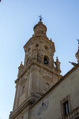torre campanario exterior Concatedral de Santa Maria de la Redonda Logroño La Rioja 02 (Rafael Gomez - http://micamara.es) Tags: españa logroño esp larioja concatedral santa de torre exterior campanario la maria rioja redonda