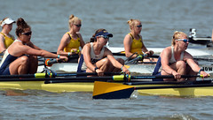 June 2, 2019:  NCAA women's rowing championships, Division I-II Eights C Final, Navy boat (carpingdiem) Tags: ncaawomensrowingchampionships eaglecreekpark navy final rowing 2019
