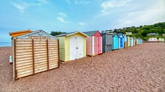 Beach Huts, The Point (AreKev) Tags: beachhuts beach huts riverbeach thepointbeach pointbeach riverteign estuary seaside seasidetown town fishingtown teignmouth southdevon devon southwestengland england uk aurorahdr2019 hdr aurorahdr nikond850 nikon d850 sigmaartlens sigma1424mmf28dghsmart sigma 1424mm 1424mmf28dghsm