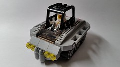 Lunar Tow Vehicle (Constender) Tags: lego classic space moc tank tracked lunar moon rover buggy