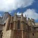 Tarragona Cathedral from Carrer de les Coques, Tarragona