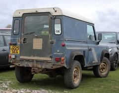 J225 SEG (Nivek.Old.Gold) Tags: 1991 land rover defender 90 tdi hardtop 2495cc marshall cambridge