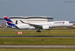 F-WZGS Airbus A350 LATAM (@Eurospot) Tags: fwzgs airbus a350 latam a350900 lfbo toulouse blagnac