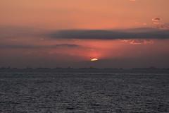 Sunset after Leaving CARTAGENA (34) (John Carson Essex UK) Tags: supersix sunset rainbowofnature photographyvision cruise cruiseships sunsetoverthesea