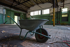 Wheelbarrow... (aphonopelma1313 (suicidal views)) Tags: urbex urbexpeople verfall leerstand zombie abandoned urbanexploration exploring urbexplaces decay igurbex rottenworld urbanart explorer photography verlassen schandfleck explore everythinglost canon ruins forgotten urbanstreet urbanphotography love industrial nrw architektur mycity forbiddenplaces brokenglass urbanexploring lostplace
