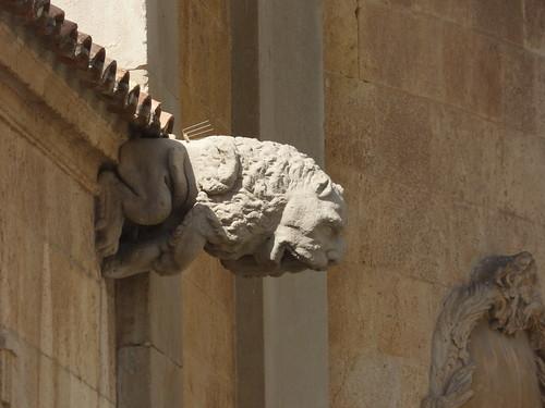 Tarragona Cathedral from Pla de la Seu, Tarragona - Gargoyle