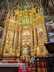 retablo altar mayor interior Concatedral de Santa Maria de la Redonda Logroño La Rioja 01 (Rafael Gomez - http://micamara.es) Tags: españa esp larioja concatedral logroño santa de la mayor maria interior altar rioja redonda retablo