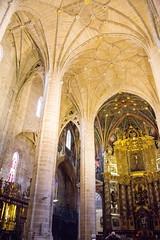 altar mayor y boveda interior Concatedral de Santa Maria de la Redonda Logroño La Rioja 02 (Rafael Gomez - http://micamara.es) Tags: españa esp larioja concatedral logroño santa de la y mayor maria interior altar 02 rioja redonda boveda