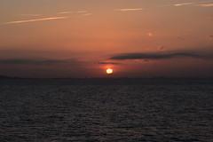 Sunset after Leaving CARTAGENA (27) (John Carson Essex UK) Tags: supersix sunset rainbowofnature photographyvision cruise cruiseships sunsetoverthesea