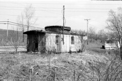 "Abandoned caboose house <a style=""margin-left:10px; font-size:0.8em;"" href=""http://www.flickr.com/photos/35715563@N04/48003104463/"" target=""_blank"">@flickr</a>"