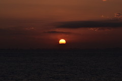 Sunset after Leaving CARTAGENA (29) (John Carson Essex UK) Tags: supersix sunset rainbowofnature photographyvision cruise cruiseships sunsetoverthesea