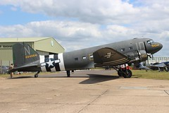N74589 / 315087 Douglas C-47A (R.K.C. Photography) Tags: n74589 315087 douglas c47 c47a dc3 dakota skytrain daksovernormandy ddaysquadron american usaaf placidlassie duxford iwm cambridgeshire england unitedkingdom uk aircraft aviation classic canoneos100d