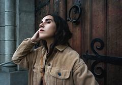 (estebanolivaresmuñiz) Tags: street autumn girl retrato new portrait