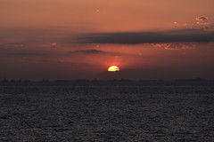Sunset after Leaving CARTAGENA (32) (John Carson Essex UK) Tags: supersix sunset rainbowofnature photographyvision cruise cruiseships sunsetoverthesea