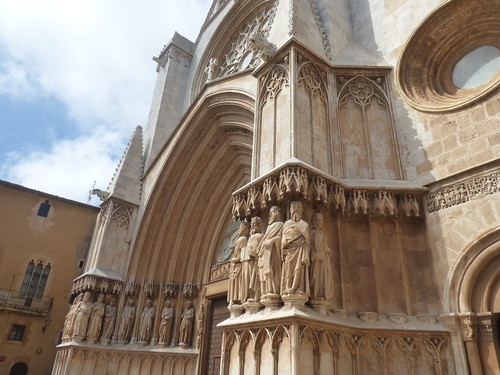 Tarragona Cathedral from Pla de la Seu, Tarragona