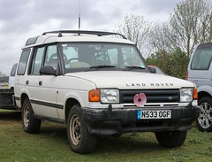 N533 OGF (Nivek.Old.Gold) Tags: 1995 land rover discovery tdi 5door 2495cc guysalmon