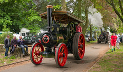 L2019_1258 - Ruston & Hornsby traction engine TREVITHICK (www.jhluxton.com - John H. Luxton Photography) Tags: 2019 abergavenny abergavennysteamveteranandvintagerally abergavennysteamveteranandvintagerally2019 cymru gwent johnhluxtonphotography leica leicam leicam262 leicamtyp262 monmouthshire wales yfenni wwwjhluxtoncom unitedkingdom traction engine steamtractionengine bailey park baileypark transportrally tractionenginerally rustonandhornsby rustonandhornsbytractionengine tjbraythreshingcontractors trevithick