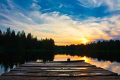 Etang de la Gruere (y.froehlich) Tags: etang etangdelagruere lake see nikon d7500 evening heaven luminar luminar3 water tree forest landscape landschaft sunshine sun