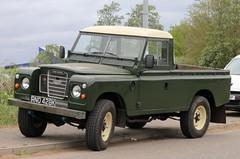 RNO 428K (Nivek.Old.Gold) Tags: 1972 land rover 109 series 3 pickup 2286cc diesel