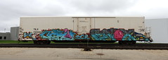 Jero/Enox (quiet-silence) Tags: graffiti graff freight fr8 train railroad railcar art jero enox icr reefer tilx betor tilx720002