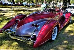 1935 Auburn 851 Boattail Speedster (rear view) (ciscoaguilar) Tags: gulfport mississippi car classic 1935 auburn boattail speedster 851 cruisin
