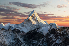 478627080 (markfreudian) Tags: sunset red mountain night himalayas mountainrange mteverest mountainridge mountainpeak lightnaturalphenomenon rockobject street sky sun fog landscape basecamp himal cloudsky eventide residentialdistrict