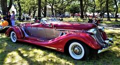 1935 Auburn 851 Boattail Speedster (ciscoaguilar) Tags: auburn 1935 851 boattail speedster gulfport mississippi cruisin classic car