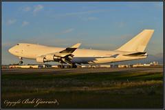 N445MC Atlas Air (Bob Garrard) Tags: n445mc atlas air boeing 747 anc panc korean lines sunset