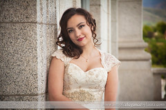 Sweet Bride (Laura K Bellamy) Tags: bride bridal bridals portraits wedding weddings