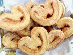 Palmier Biscuits (grassit) Tags: palmier pastry bakery bakinggoods