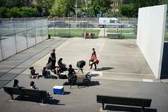 Fashion Shoot (dtanist) Tags: nyc newyork newyorkcity new york city sony a7 7artisans 35mm brooklyn coney island seaside handball courts fashion shoot