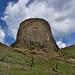 Phonolite Porphyry Monolith (Devils Tower National Monument)