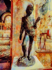 The Actor (Steve Taylor (Photography)) Tags: stand architecture digitalart statue colourful uk gb england greatbritain unitedkingdom london texture corpuschristicatholicchurch coventgarden maidenlane