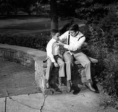 Help with the Tie (Dalliance with Light (Andy Farmer)) Tags: artmuseum street bw monochrome philadelphia philly pennsylvania unitedstatesofamerica