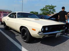 1972 Dodge Challenger (splattergraphics) Tags: 1972 dodge challenger ebody mopar carshow churchoftheholydonut burtonsvillemd