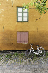 Streets of Copenhagen (www.ownwayphotography.com) Tags: street house italy shop yellow front bike bicycle door town building colorful window travel beautiful white burano background old vintage urban architecture barber bright lane outside city touristic traditional lifestyle colourful color nature bicycles