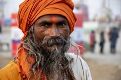 Sadhu, Kumbha Mela; Allahabad (Valdas Photo Trip) Tags: india allahabad kumbha mela street photography travel portrait