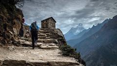 A Midsummer Day's Dream (Neha & Chittaranjan Desai) Tags: ama dablam mount mountain everest base camp trek himalayas nepal trekking trekker travel nature landscape